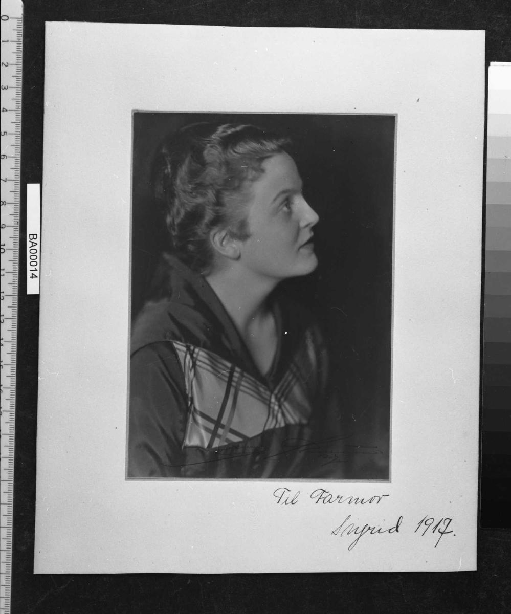 Ingrid Bjørnson, portrett