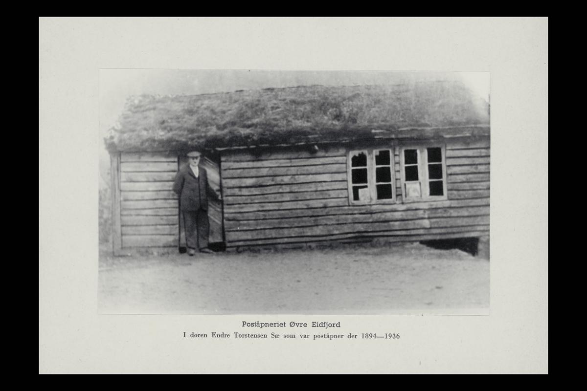 eksteriør, poståpneri, 5784 Øvre Eidfjord, poståpner