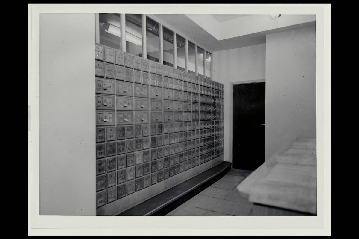 interiør, postkontor, 6500 Kristiansund N, postbokser