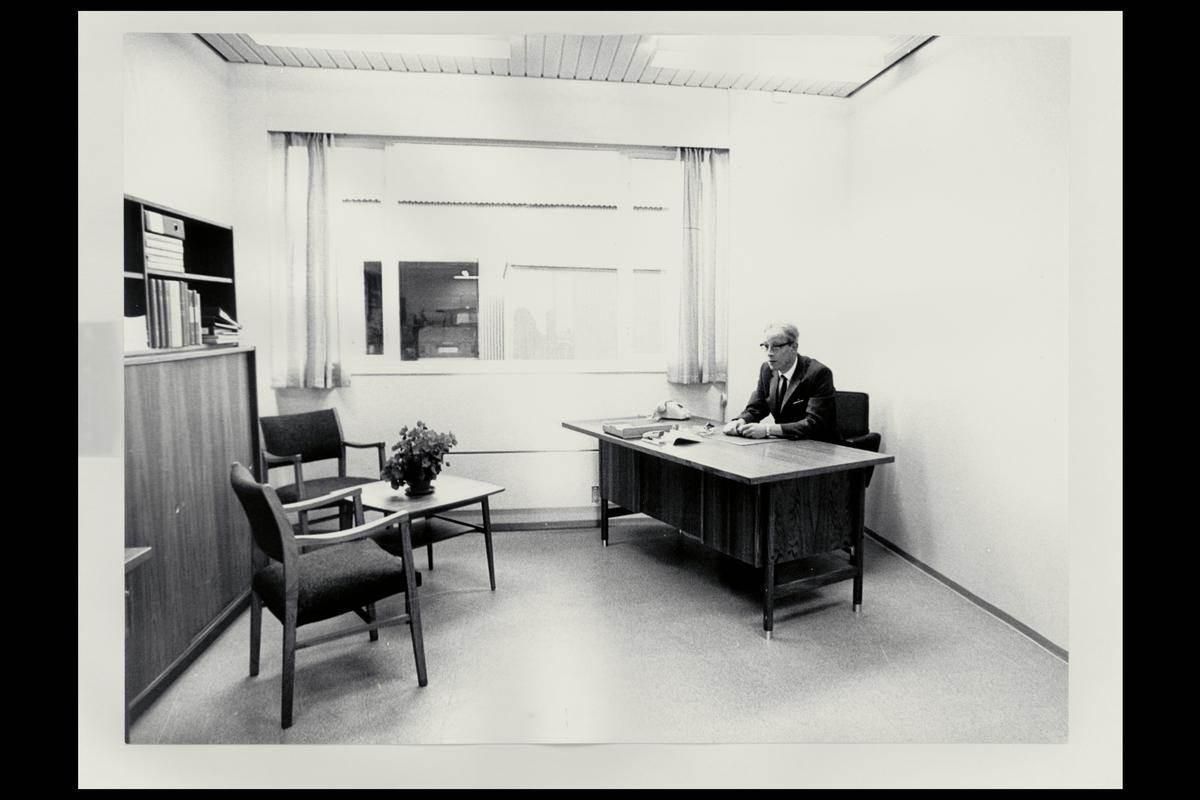 interiør, postkontor, 1008 Leirdal, kontor, personale