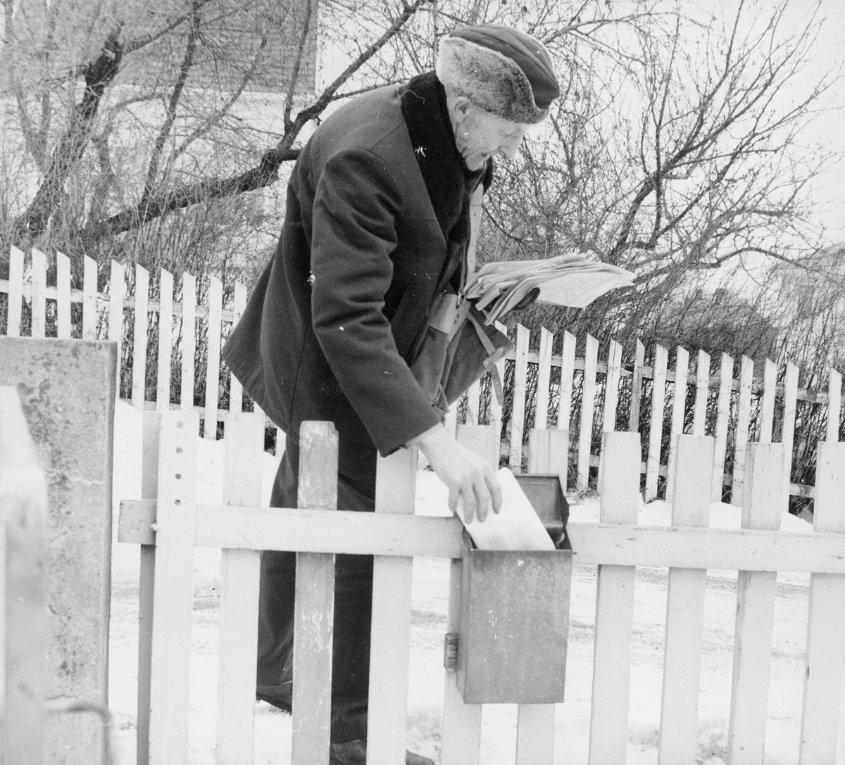 omdeling, postbud, postkasse