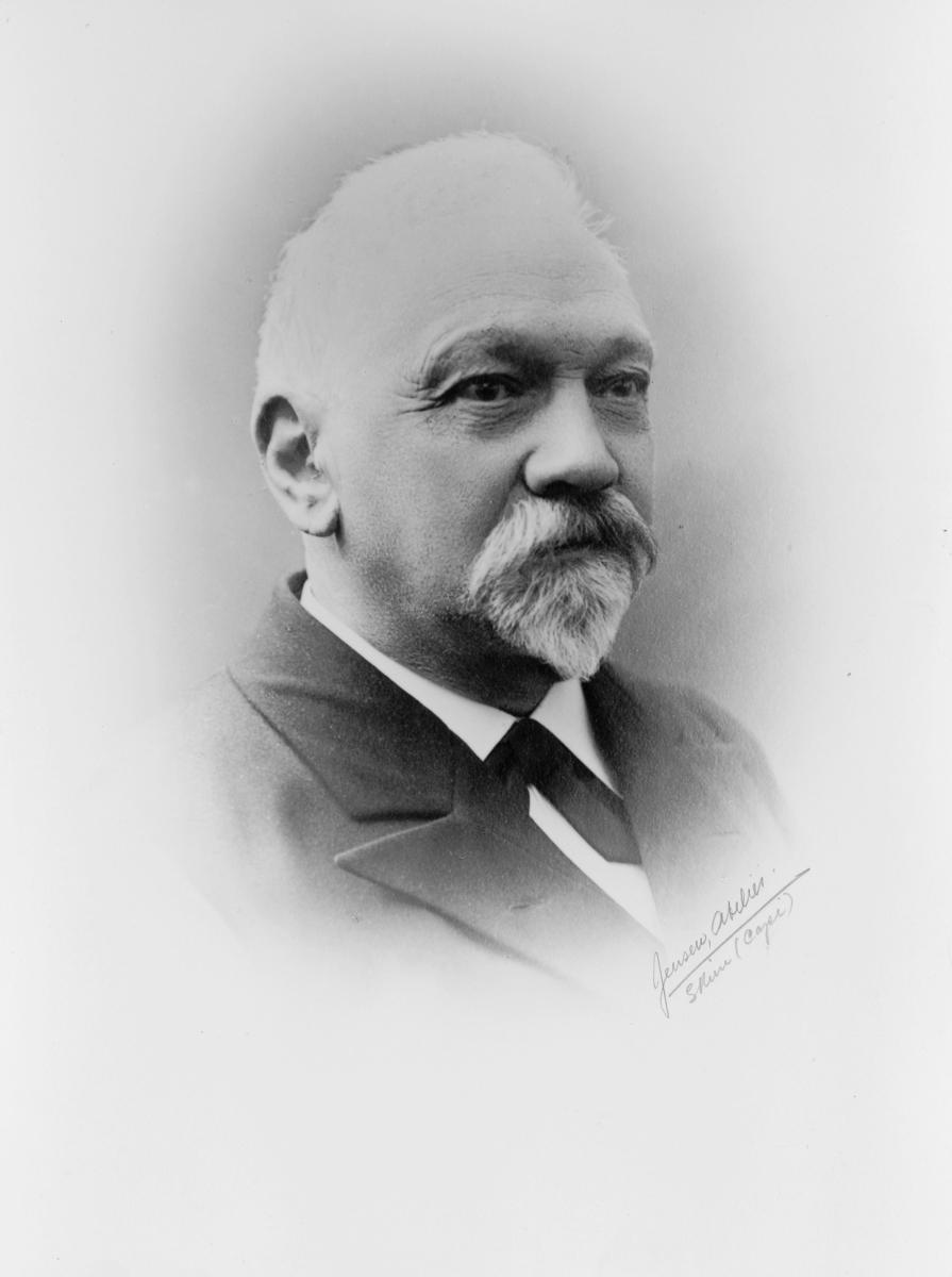 portrett, postmester, Carsten Henrik Sendresen