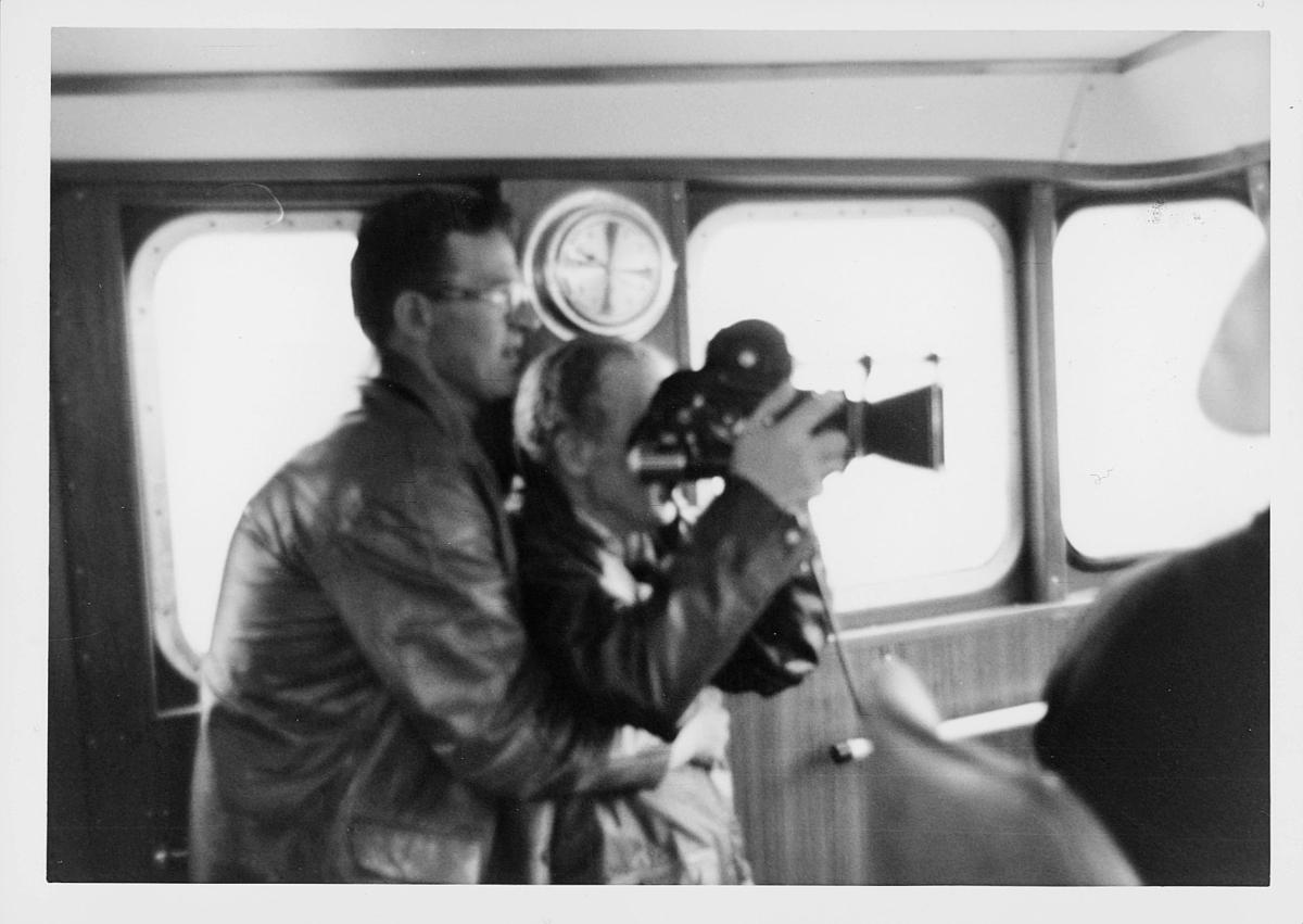 postsparebanken, Magne Karlsen, 1 mann, interiør, ombord på båt, filmer