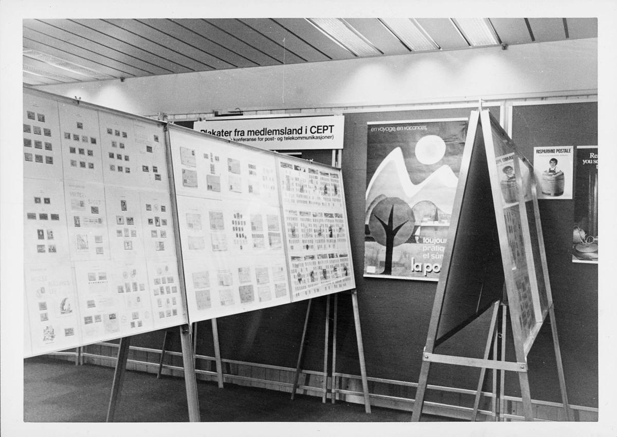 markedsseksjonen, verdenspostforeningen 100 år, filateli, frimerkeutstilling