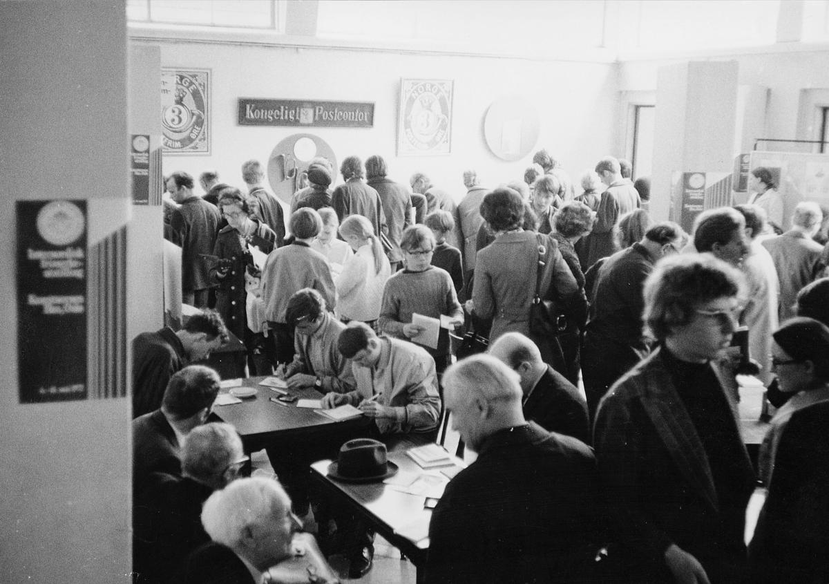 markedsseksjonen, Internordisk frimerkeutstilling, Kunstnernes Hus, Posthornet 100 år, filateli