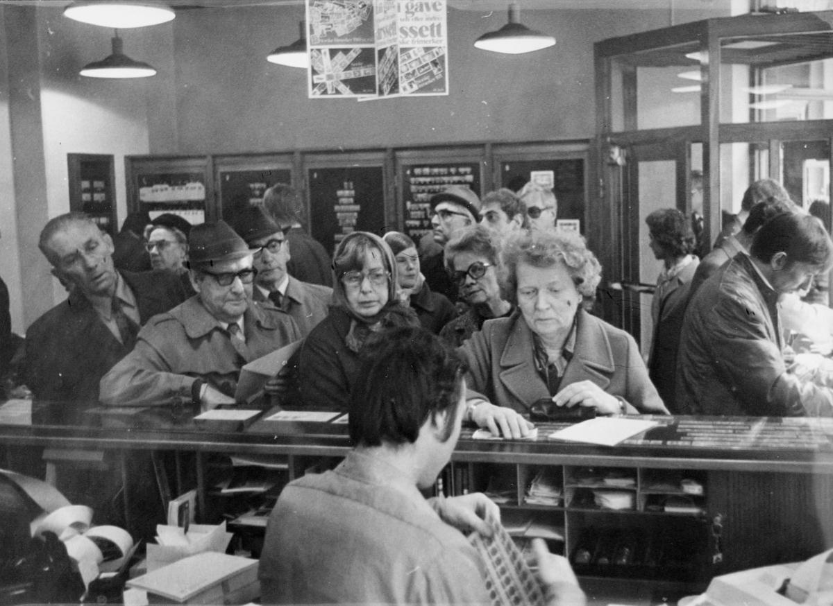 markedsseksjonen, Frimerkets dag '73, Postens filatelitjeneste,  salg av filateli