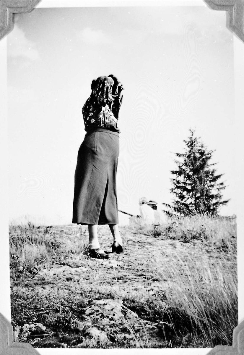 Tur, fjelltur, kvinne