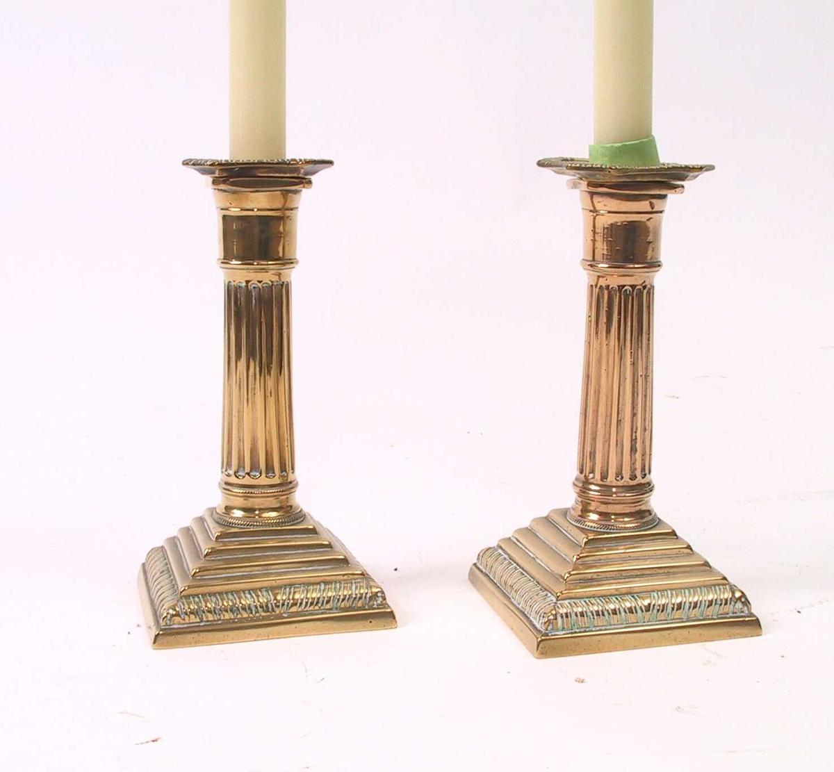 Vertikalriflet bord/ kannelurer