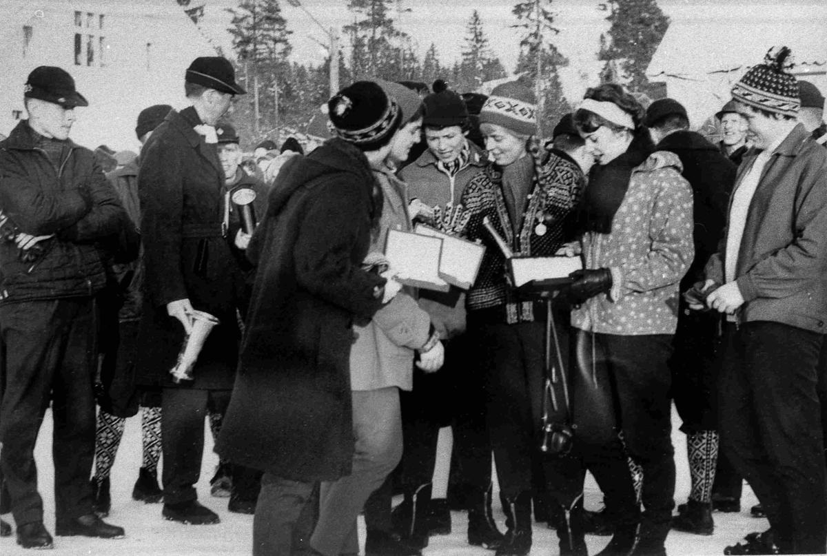 Bilder fra Birkenes kommune Kjente aktive under NM på ski i 1963