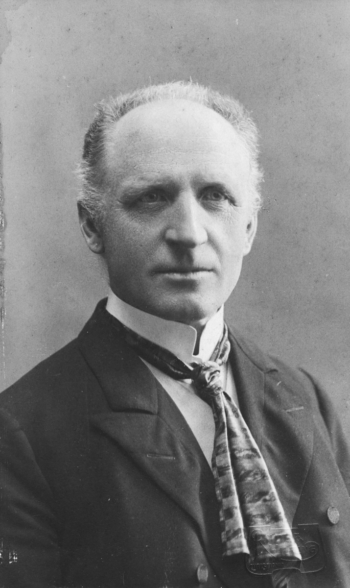 Alfred Selmer f.1851  d.1919.