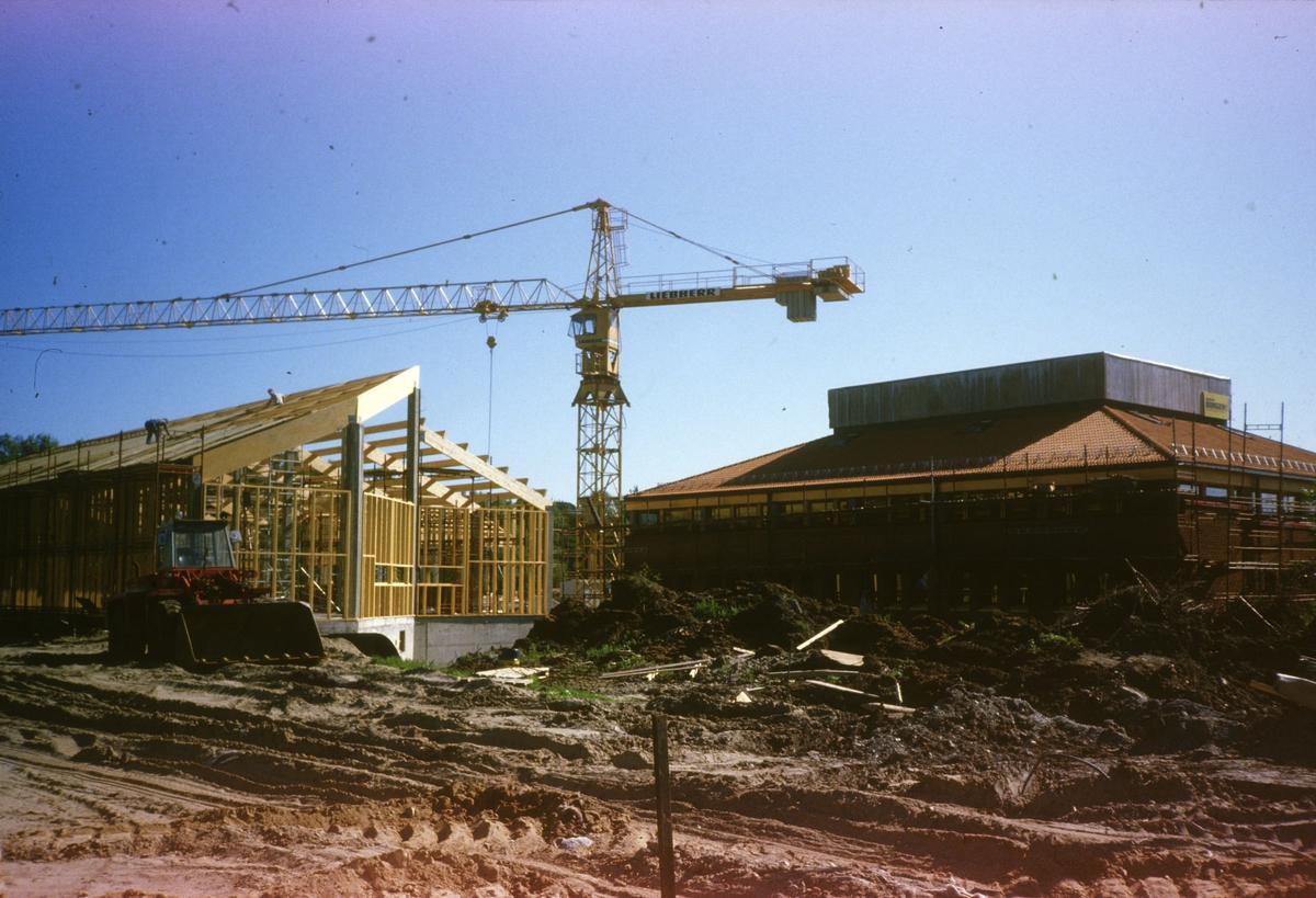 Skedsmo kommunale energiverk. Bygging 1985