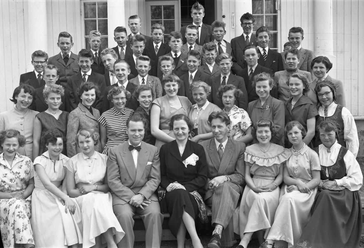 Dørum Framhaldsskole 1956.