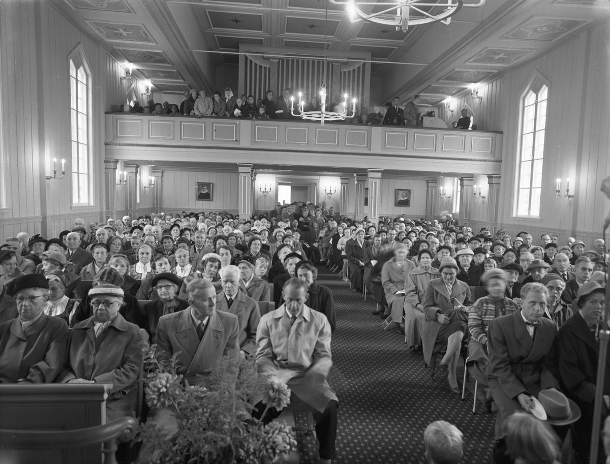Langset Kirke. 100 års jubileum. 18.okt. 1959.