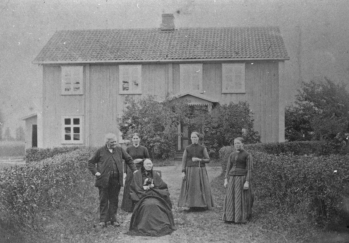 Dokken skole 1880-1890.