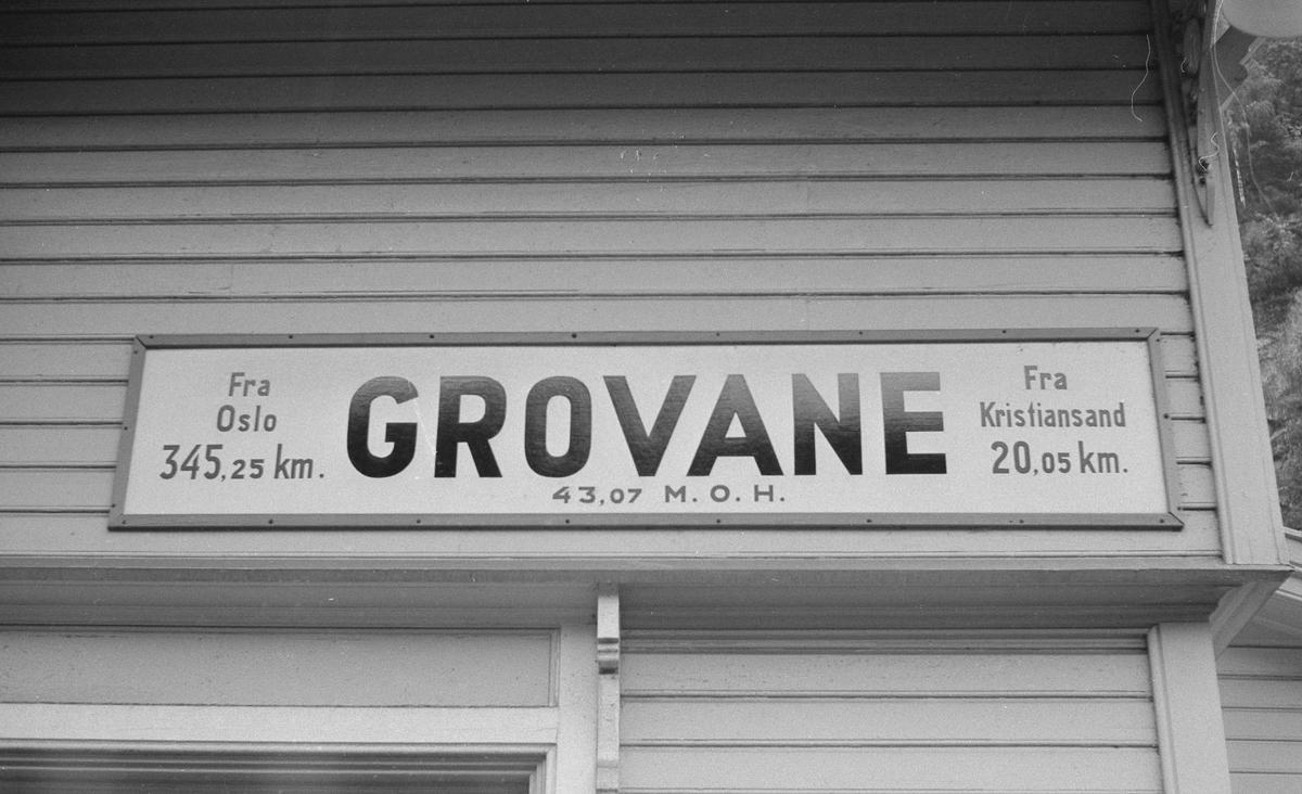 Grovane stasjon