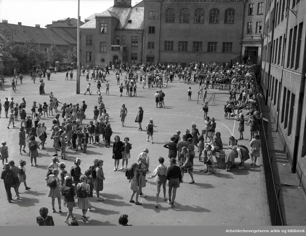 Ila skole,.juni 1950