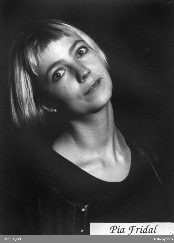 Portrait av Pia Fridal.Kontakt Nordic Black Theatre ved ev. bestilling av kopier.