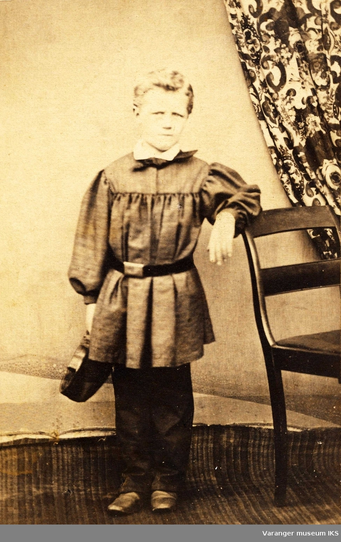 Hans Fredrik Esbensen som ung gutt.