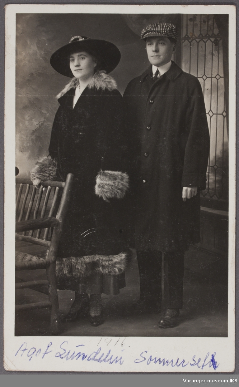 Ågot Sundelin Sommerset og Gust. Sommerset, Astoria 1.12. 1916