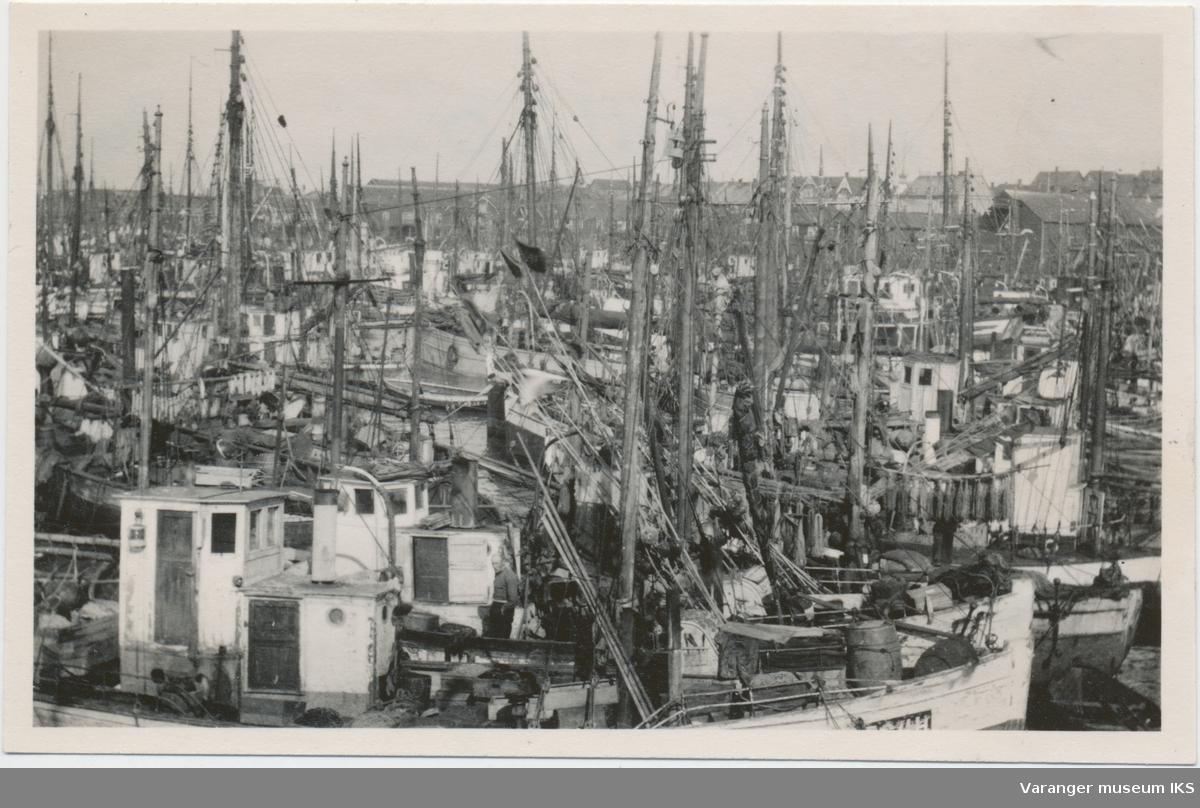 Fiskebåter på Nordre Våg, antatt 1930-tallet