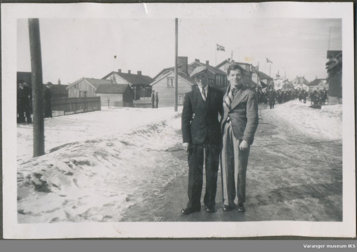 To unge menn i Kristian IVs gate