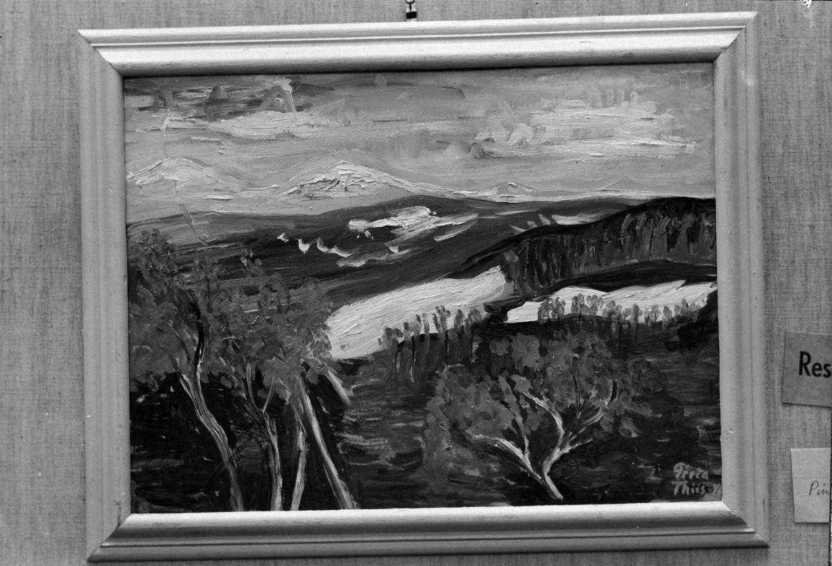 Maleri av Greta Thiis i Trondhjems Kunstforening
