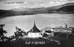 """Ankenes Kirke ved Narvik"""