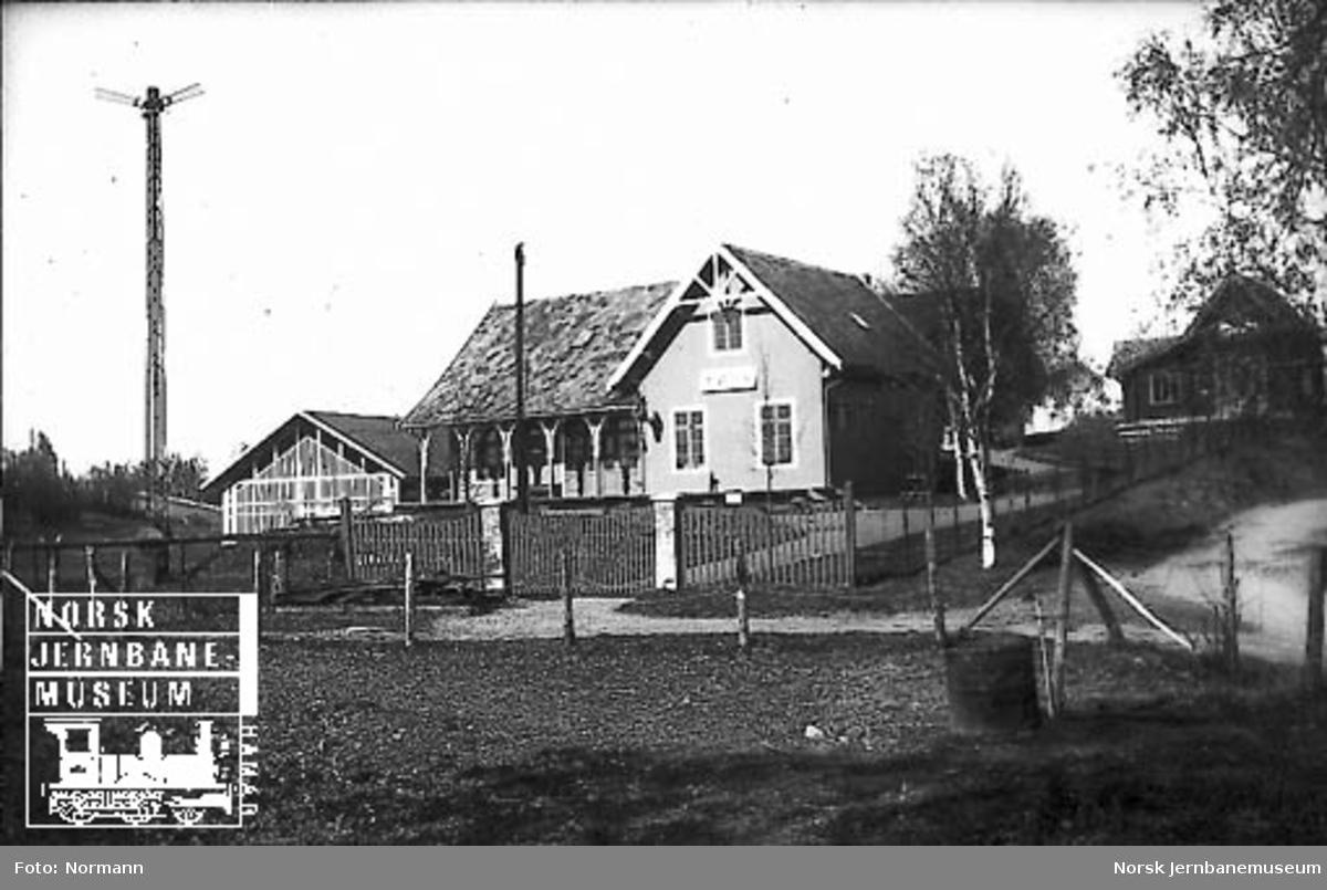 Jernbanemuseet På Disen Kløften Stasjonbygning Norsk