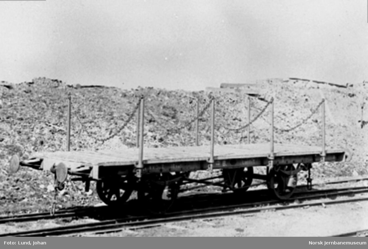 Kongsvingerbanens plattformvogn litra T nr. 2983