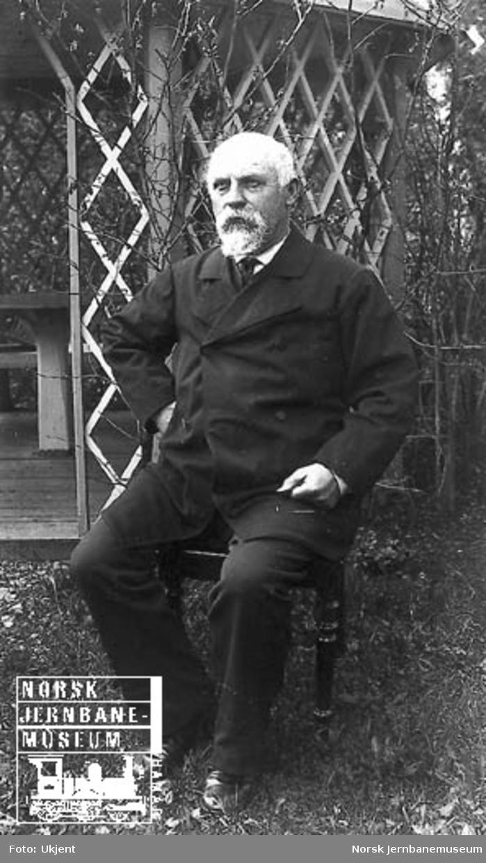 Portrett av stasjonsmester Gustav Fredrik Dorph