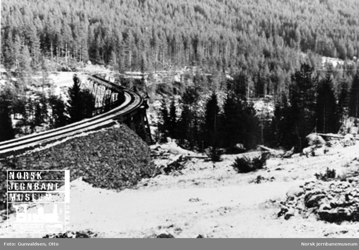 "Provisorisk bru ved Svenkerud, ""Von Falkenhorst Brücke"""