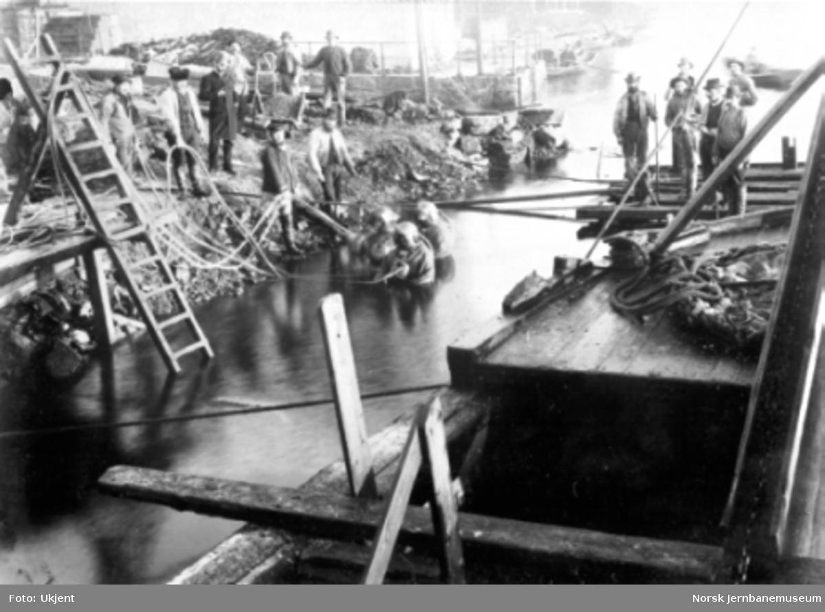 Dykkerarbeider i Porsgrunn