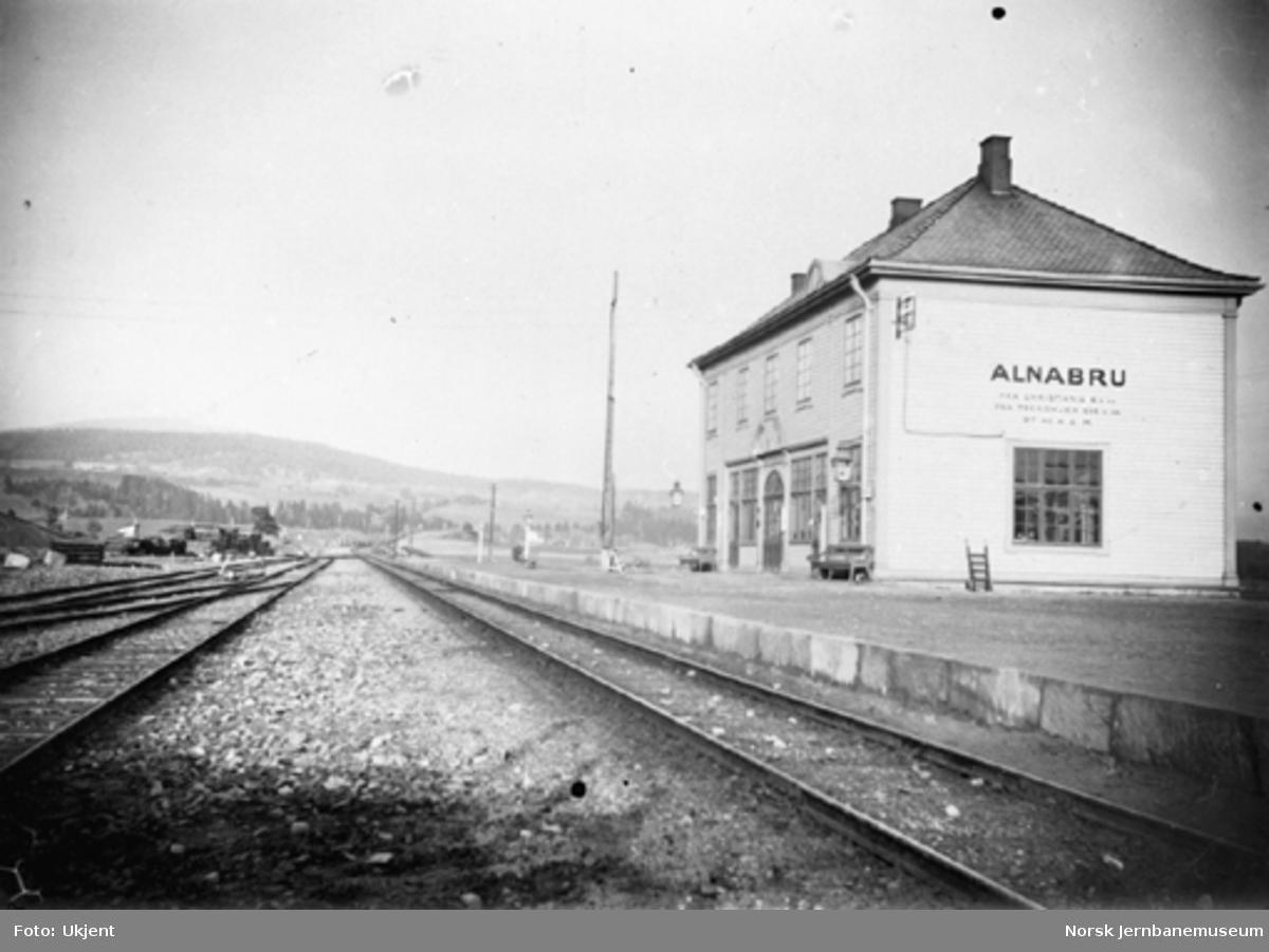 Alnabru stasjonsbygning