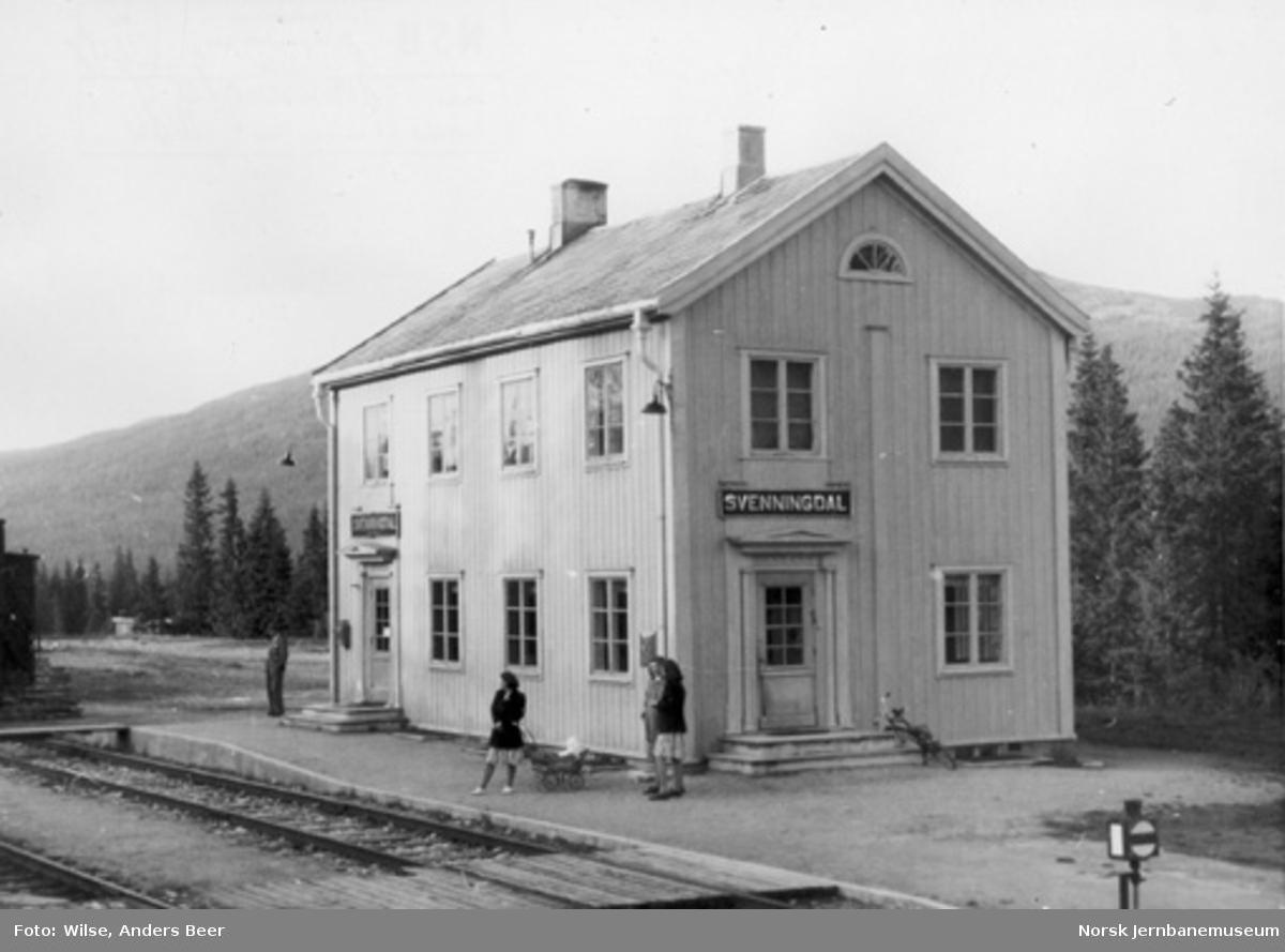 Svenningdal stasjon