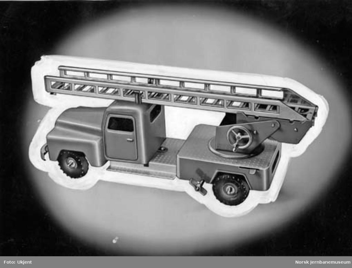 Leke : modell av brannbil