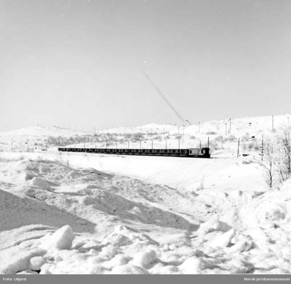 Sydvarangers malmtog mellom Bjørnevatn og Kirkenes