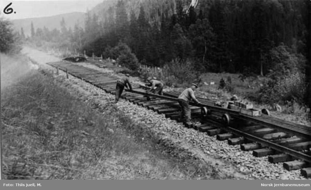 Skinnelegging på Nordlandsbanen