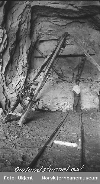 Drift i Omland tunnel østre innslag