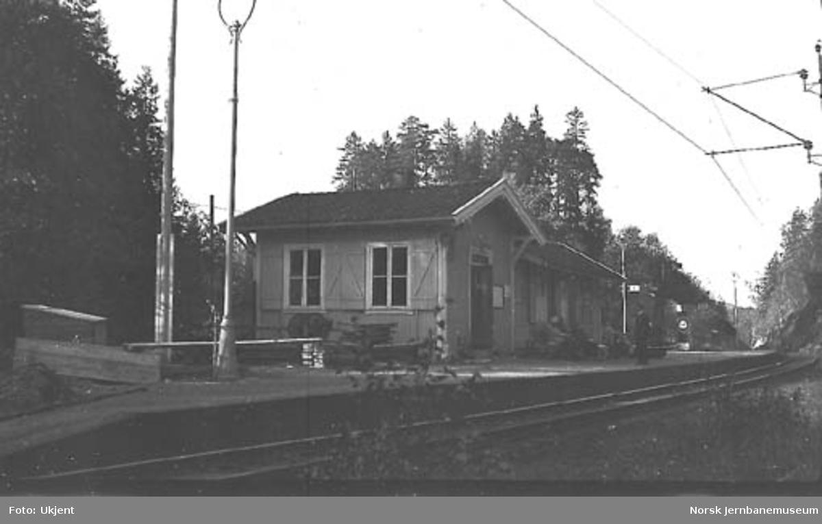 Slependen stasjonsbygning