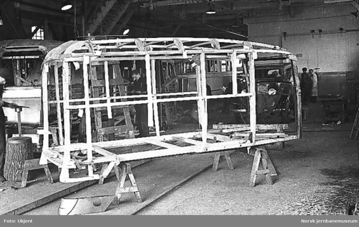 Stenderverket til karosseriet varebil International