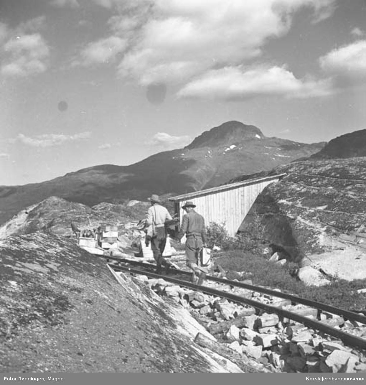 Nordlandsbaneanlegget ved Lønsdal : filmopptak