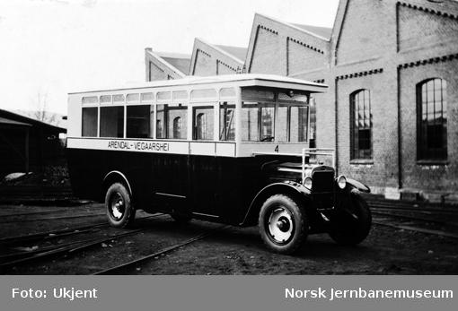 GMC buss til Axel Norén, Arendal