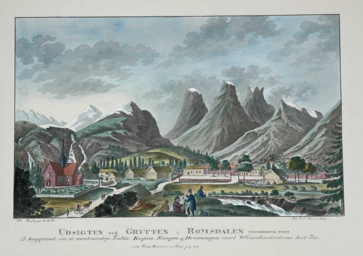 Prospekt fra Grytten, Romsdalen