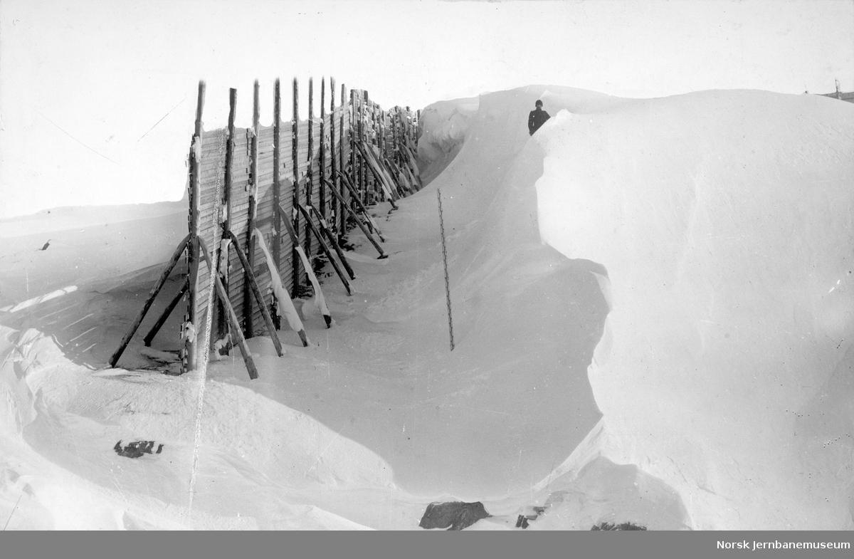 Snøskjermer ved km 38,8