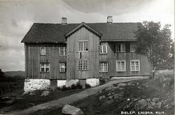 Bøler, Enebakk, Nedre Romerike, Akershus. Hovedbygningen.