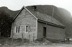 Ljøsne, Lærdal, Sogn og Fjordane, bygget 1866. Lite grått sk
