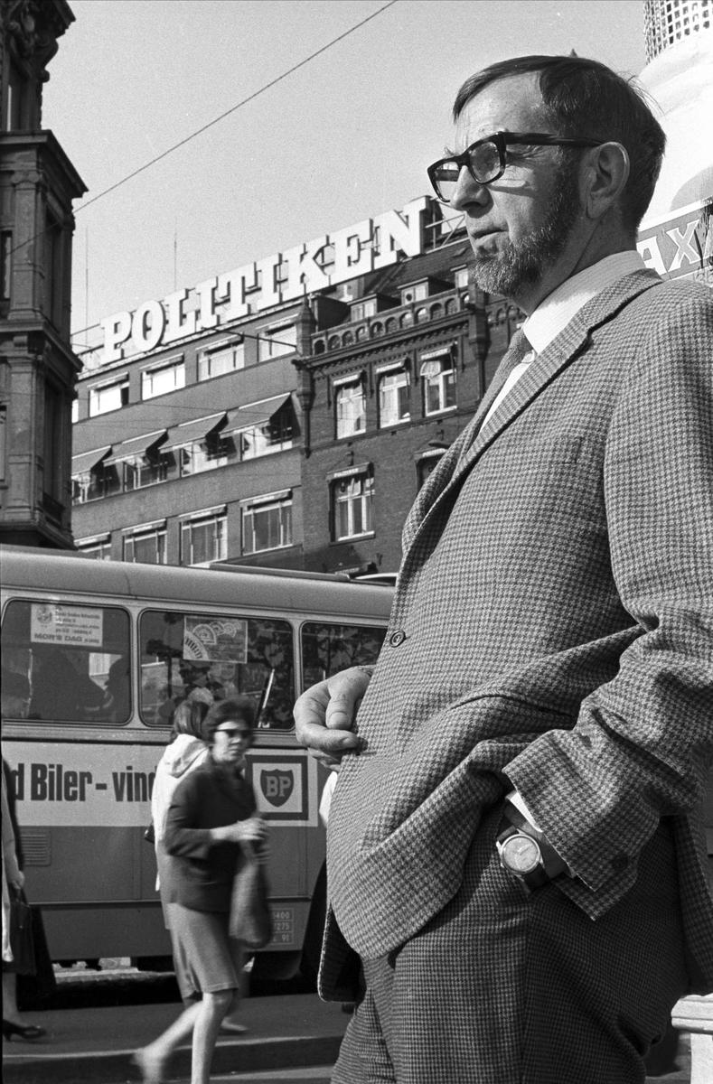 København, våren 1967, professor Odd Brochmann.