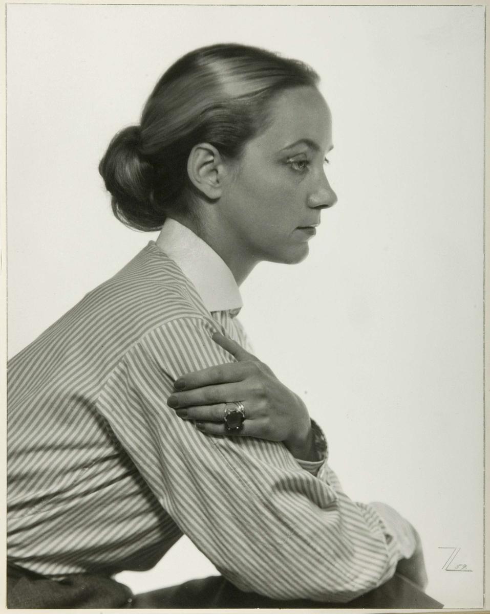 Porträtt - Inga Thomasson, Uppsala 1959