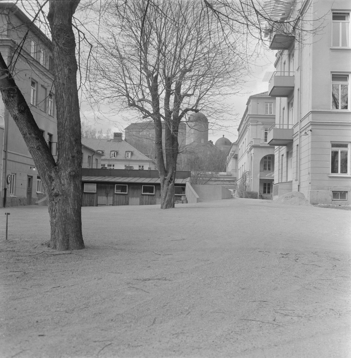 Akademiska sjukhuset, Uppsala 1958