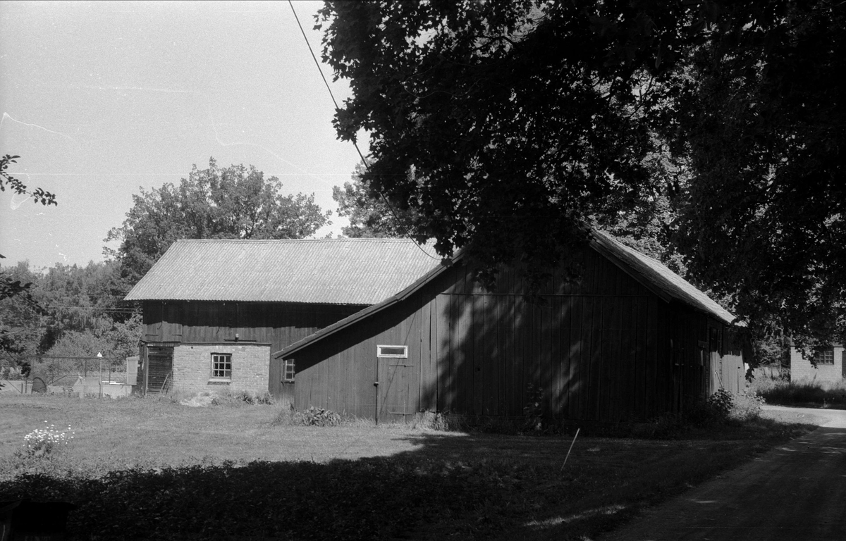 Lada, lider, stall och ladugård, Lund 2:4, Björklinge socken, Uppland 1976
